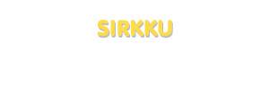 Der Vorname Sirkku