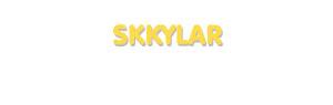 Der Vorname Skkylar