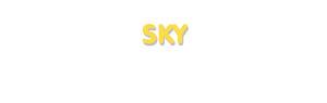 Der Vorname Sky