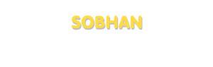 Der Vorname Sobhan