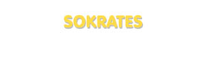 Der Vorname Sokrates
