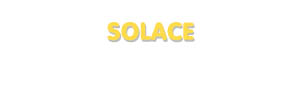Der Vorname Solace