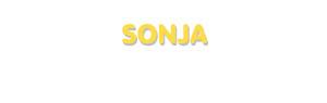 Der Vorname Sonja