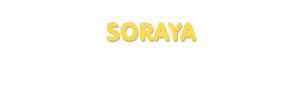 Der Vorname Soraya