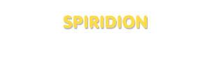 Der Vorname Spiridion