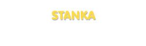 Der Vorname Stanka