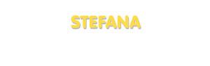 Der Vorname Stefana