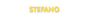 Der Vorname Stefano