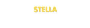 Der Vorname Stella