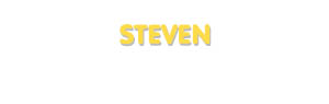 Der Vorname Steven