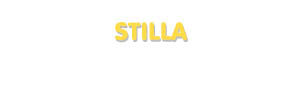 Der Vorname Stilla