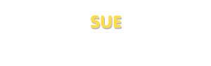 Der Vorname Sue