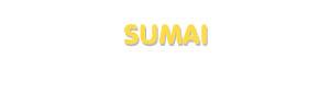 Der Vorname Sumai