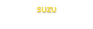Der Vorname Suzu
