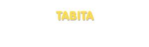 Der Vorname Tabita