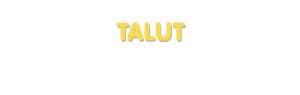 Der Vorname Talut