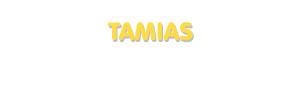 Der Vorname Tamias