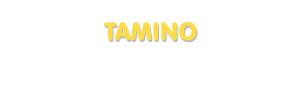 Der Vorname Tamino