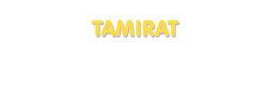 Der Vorname Tamirat