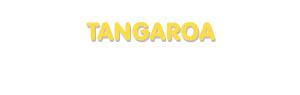 Der Vorname Tangaroa