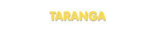 Der Vorname Taranga