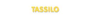 Der Vorname Tassilo