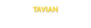 Der Vorname Tavian