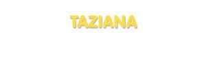 Der Vorname Taziana