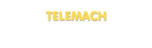 Der Vorname Telemach