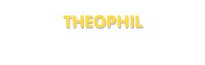 Der Vorname Theophil
