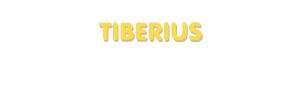 Der Vorname Tiberius