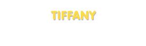 Der Vorname Tiffany