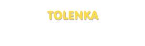 Der Vorname Tolenka