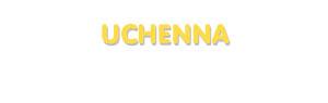 Der Vorname Uchenna