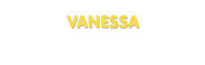 Der Vorname Vanessa