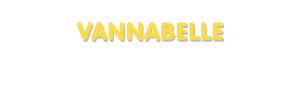Der Vorname Vannabelle