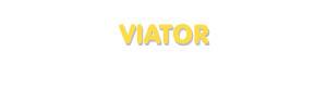Der Vorname Viator