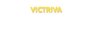 Der Vorname Victriva