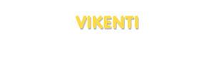 Der Vorname Vikenti