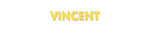 Der Vorname Vincent