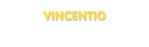 Der Vorname Vincentio