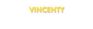 Der Vorname Vincenty