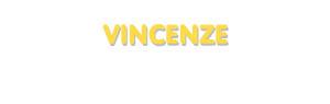 Der Vorname Vincenze