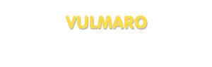 Der Vorname Vulmaro
