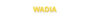 Der Vorname Wadia