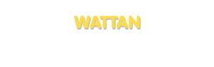 Der Vorname Wattan