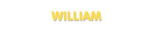 Der Vorname William
