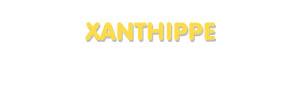 Der Vorname Xanthippe