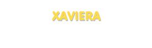Der Vorname Xaviera