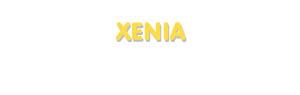 Der Vorname Xenia
